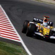 Fernando Alonso en la clasificación