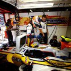Piquet se prepara