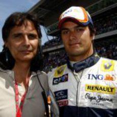 Nelson y Nelsinho Piquet