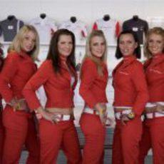 Chicas y 'pitbabes' en la Fórmula 1