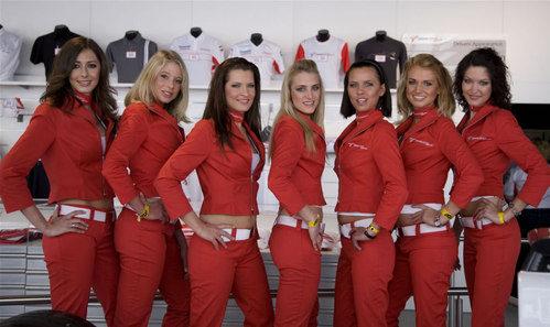 Chicas Panasonic