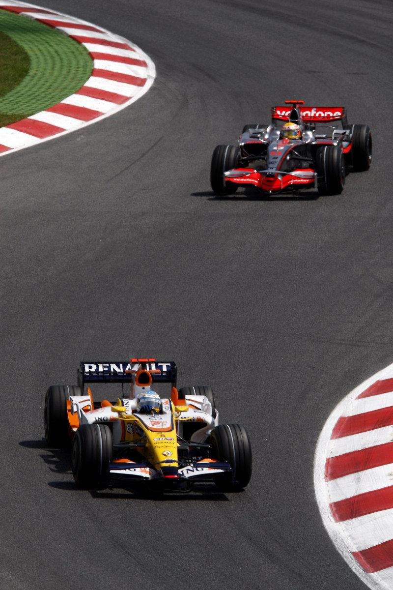 Hamilton y Alonso