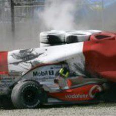 Heikki Kovalainen se estrella