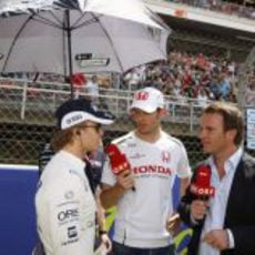 Alex Wurz entrevista a Nico Rosberg