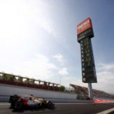Nelsinho Piquet en Montmeló