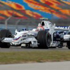 Robert Kubica en pista
