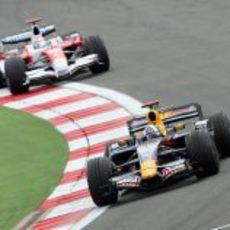 Coulthard y Trulli