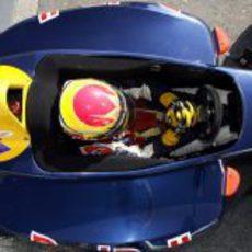 Alguersuari en Monza en 2006