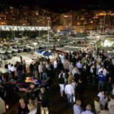 Fiesta Red Bull en Mónaco