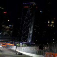 Barrichello durante la clasificación