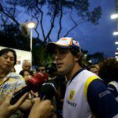 Alonso decepcionado por el resultado