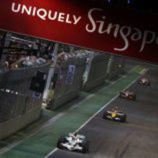 Barrichello en Singapur
