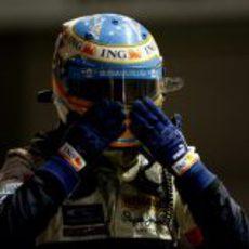 Alonso no se cree su resultado