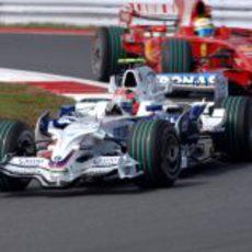 Kubica ante Massa