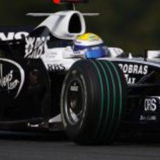 Rosberg en pista