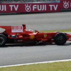 El Ferrari de Raikkonen
