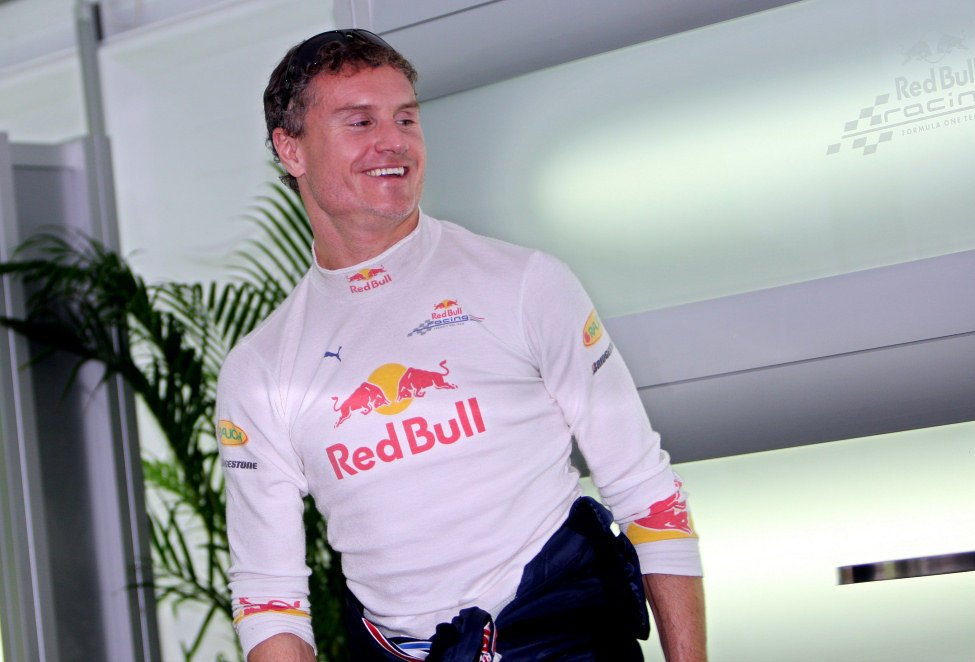 Coulthard contento