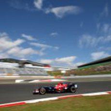El Toro Rosso de Bourdais
