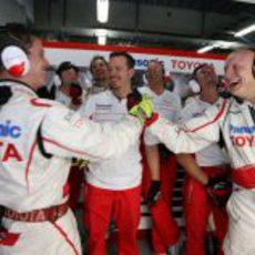 Alegría en Toyota