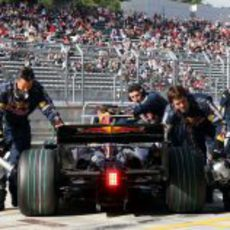 El Red Bull de Coulthard