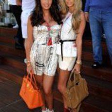 Tamara y Petra Ecclestone en el GP de Mónaco 2011