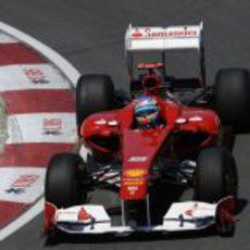 Alonso en el 150º Italia en el GP de Canadá 2011