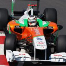 Hülkenberg pilota el Force India en el GP de Canadá 2011