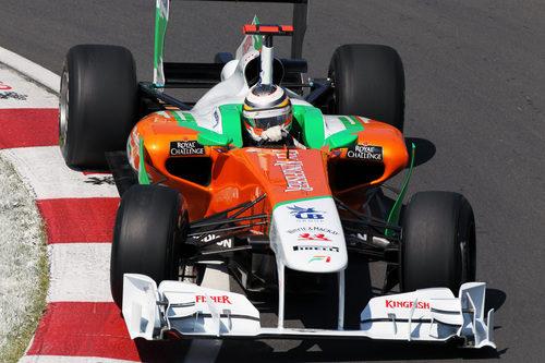 Hülkenberg pilota el Force India en el GP de Canadá 2011