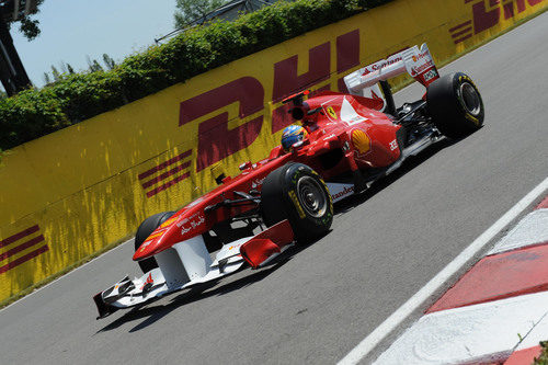 El 150º Italia se adapta bien al circuito de Montreal