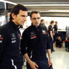 Pedro de la Rosa, ahora en McLaren...
