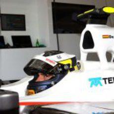 De la Rosa está listo para salir a rodar en el circuito de Montreal