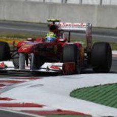Felipe Massa durante los libres 3 del GP de Canadá 2011