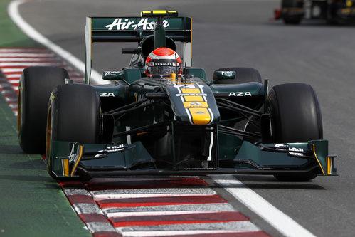 Jarno Trulli durante la FP3 del GP de Canadá 2011