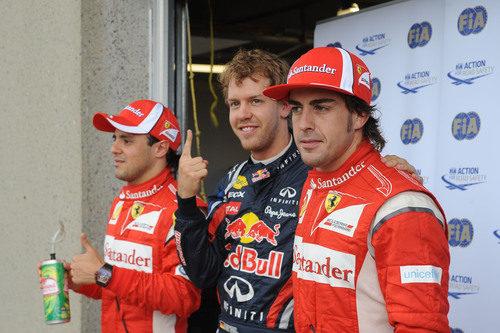 Fernando Alonso saldrá segundo, detrás de Vettel en el GP de Canadá 2011