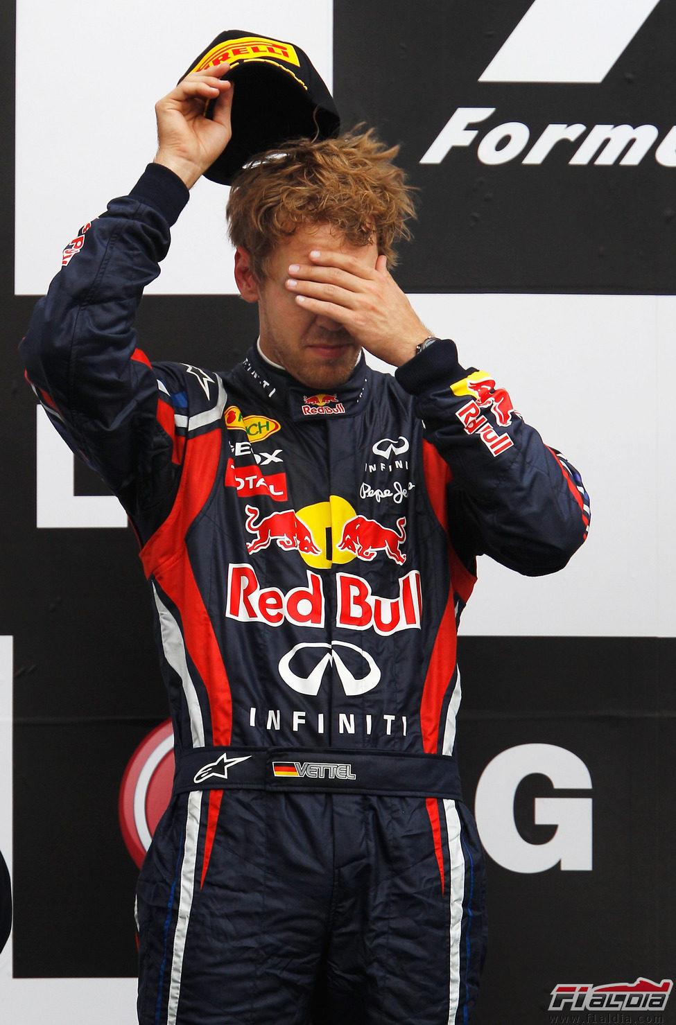 Vettel no se cree que no haya ganado el GP de Canadá 2011