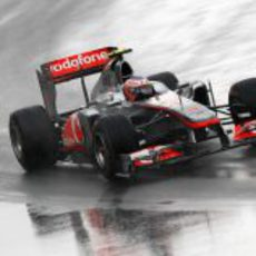 Jenson Button en plena remontada en Canadá