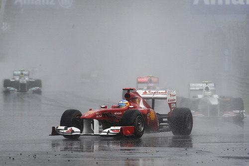 Fernando Alonso falló con la estrategia en el GP de Canadá 2011