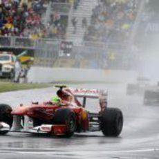 Felipe Massa sólo se pudo llevar 8 puntos a casa en Canadá