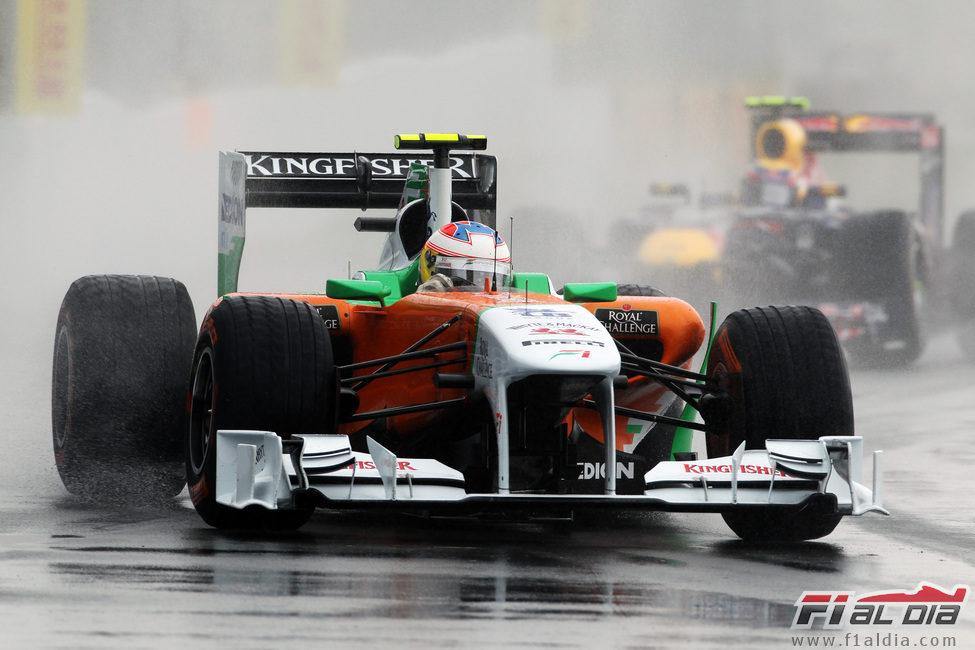 Paul di Resta en la carrera del GP de Canadá 2011