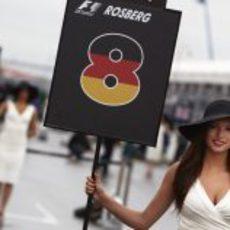 La 'pitbabe' de Nico Rosberg en Canadá 2011