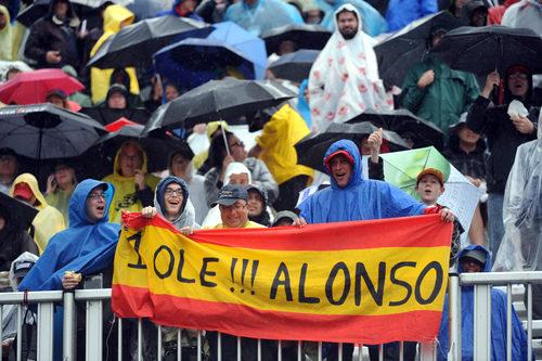 Aficionados españoles en el GP de Canadá 2011