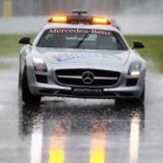 El coche de seguridad sobre el asfalto de Canadá 2011