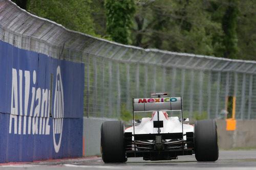 México presente en el Sauber C30 en Canadá 2011