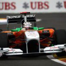 Adrian Sutil rueda en el GP de Europa 2011