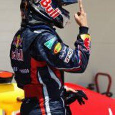 Sebastian Vettel logra la 'pole' en el GP de Europa 2011