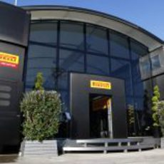 'Motorhome' de Pirelli en Valencia