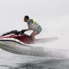Liuzzi fue el más rápido con las motos de agua en Europa 2011