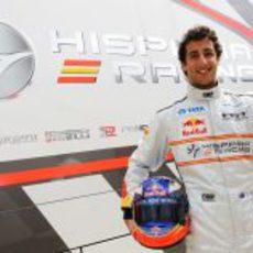 Daniel Ricciardo, nuevo piloto de Hispania Racing