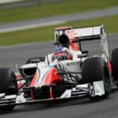 Ricciardo rueda por primera vez con el F111 en el GP de Gran Bretaña 2011