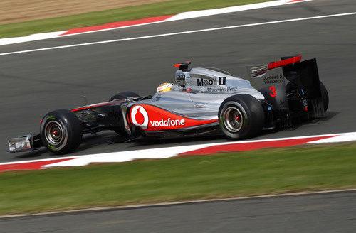 Hamilton saldrá 10º en el GP de Gran Bretaña 2011